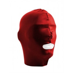 Mister B Datex Hood Mouth Open Only Red maschera cappuccio con foro