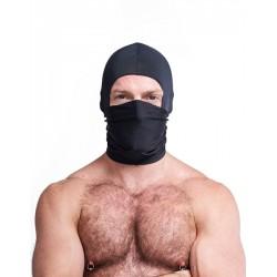 Mister B Multi Purpose Lycra Hood Black maschera cappuccio in tessuto