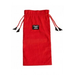 Mister B Toy Bag Red Medium borsa custodia per conservare dildo e sex toys