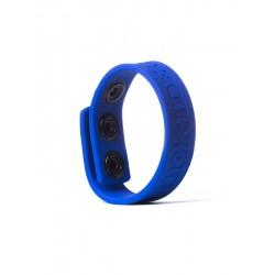 Rude Rider Silicone Cock Strap Blue cockring anello per il pene in silicone