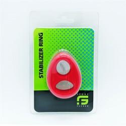 Sport Fucker Stabilizer Ring Red cockring & ballstretcher in silicone estensibile