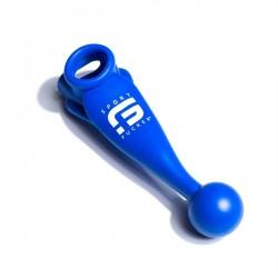 Sport Fucker Meat Harness Blue asslock plug cockring & ballstretcher in silicone estensibile