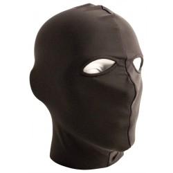 Mister B Lycra Hood Eyes Open Only Black maschera cappuccio con fori per gli occhi