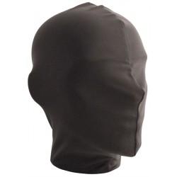 Mister B Lycra Hood No Holes Black maschera cappuccio completamente chiuso senza fori