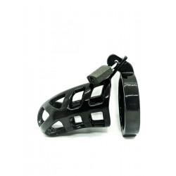 Black Label Black Line Chastity Cage Brutus Ring 45 mm. gabbia di castità pene