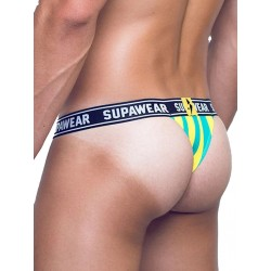 Supawear POW Thong Underwear Yellow Beast perizoma tanga