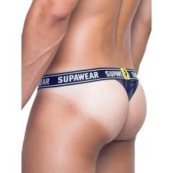 Supawear POW Thong Underwear Black Beast perizoma tanga