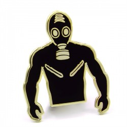 Master of the House Pin Rubber spilla identificativa