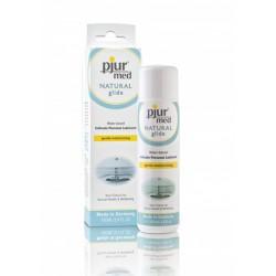 Pjur Med Natural Glide Wb 100 Ml. lubrificante intimo a base acquosa protegge e lenisce la pelle secca