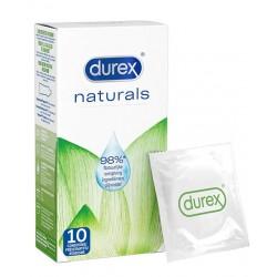 DUREX Naturals Condoms 10 pz. profilattici preservativi naturali
