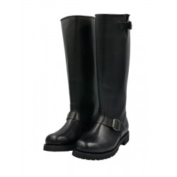 Mister B Motor Boots stivali in pelle di qualità da motociclista