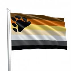 Bear Pride Fetish Flag 90 x 150 cm bandiera orso pride fetish