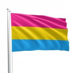 Pansexual Flag 90 x 150 cm bandiera pansexual pride