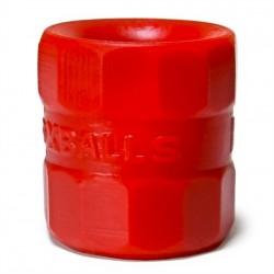 Oxballs Bullballs-2 Ball Stretcher Red per testicoli grandi