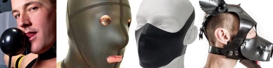 maschere e bavagli rubber latex e neoprene