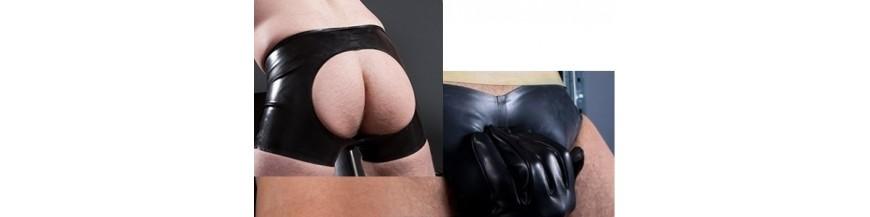 calzoncini e slip rubber latex e neoprene